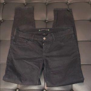 J Brand Jett Black Skinny Jeans